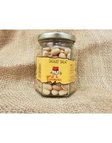Salted Peeled Peanut jar 140 gr,