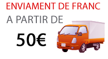 Enviament de franc a partir de 50€