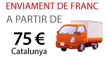Enviament de franc a partir de 50€
